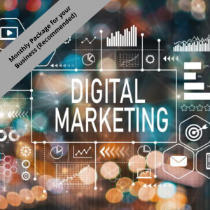 Digital Marketing – Monthly Package